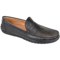 Pantofi Bărbați Mocasini Valleverde 11840 Negru