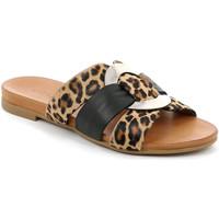 Pantofi Femei Papuci de vară Grunland CI2855 Negru