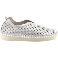 Pantofi Femei Pantofi Slip on Grunland SC4910 Argint