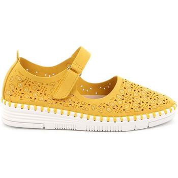 Pantofi Femei Balerin și Balerini cu curea Grunland SC4911 Galben