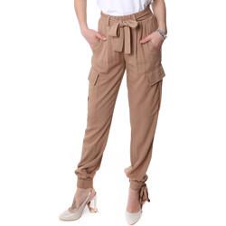 Îmbracaminte Femei Pantaloni Cargo Fracomina FR20SP127 Bej