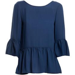Îmbracaminte Femei Topuri și Bluze Fracomina FR20SP040 Albastru