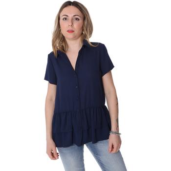 Îmbracaminte Femei Cămăși și Bluze Fracomina FR20SP039 Albastru