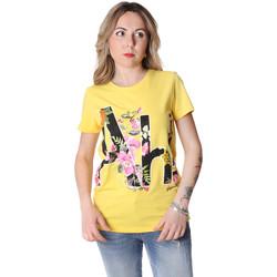Îmbracaminte Femei Tricouri mânecă scurtă Fracomina FR20SP368 Galben