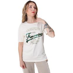 Îmbracaminte Femei Tricouri mânecă scurtă Fracomina FR20SP305 Alb