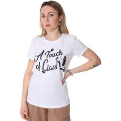 Îmbracaminte Femei Tricouri mânecă scurtă Fracomina FR20SP306 Alb