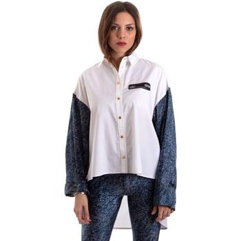 Îmbracaminte Femei Cămăși și Bluze Versace B0HVB606S0683904 Alb