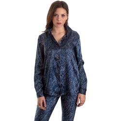 Îmbracaminte Femei Cămăși și Bluze Versace B0HVB601S0683904 Albastru