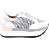 Pantofi Femei Pantofi sport Casual Grace Shoes 331009 Argint