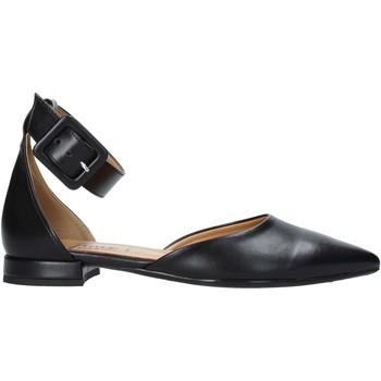 Pantofi Femei Balerin și Balerini cu curea Grace Shoes 521T021 Negru