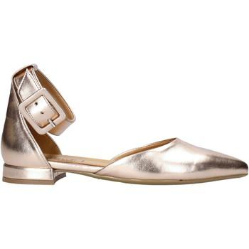 Pantofi Femei Balerin și Balerini cu curea Grace Shoes 521T021 Roz