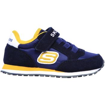 Pantofi Copii Pantofi sport Casual Skechers 97366N Albastru