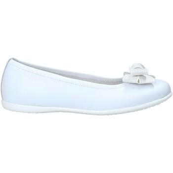 Pantofi Fete Balerin și Balerini cu curea NeroGiardini E031401F Alb