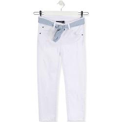 Îmbracaminte Copii Jeans slim Losan 014-9011AL Alb