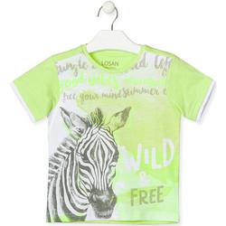 Îmbracaminte Copii Tricouri mânecă scurtă Losan 015-1011AL Verde
