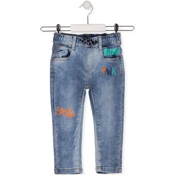 Îmbracaminte Copii Jeans slim Losan 015-6022AL Albastru
