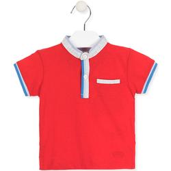Îmbracaminte Copii Tricou Polo mânecă scurtă Losan 017-1791AL Roșu