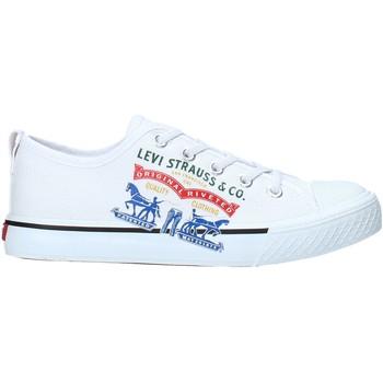 Pantofi Copii Pantofi sport Casual Levi's VORI0008T Alb