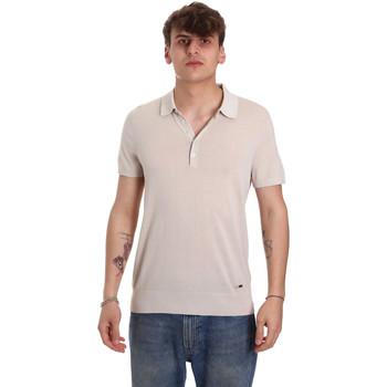 Îmbracaminte Bărbați Tricou Polo mânecă scurtă Gaudi 011BU53011 Bej