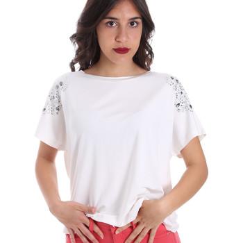 Îmbracaminte Femei Tricouri mânecă scurtă Gaudi 011FD64022 Alb