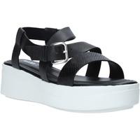Pantofi Femei Sandale  Impronte IL01524A Negru