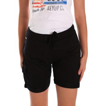 Îmbracaminte Femei Pantaloni scurti și Bermuda Key Up 5G75F 0001 Negru