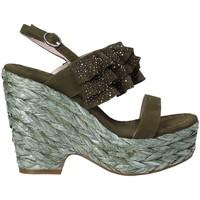 Pantofi Femei Sandale  Alma En Pena V18350 Verde