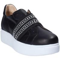 Pantofi Femei Pantofi Slip on Exton E05 Negru