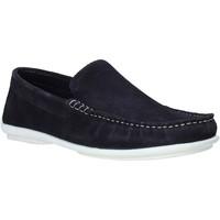 Pantofi Bărbați Mocasini Impronte IM01060A Albastru