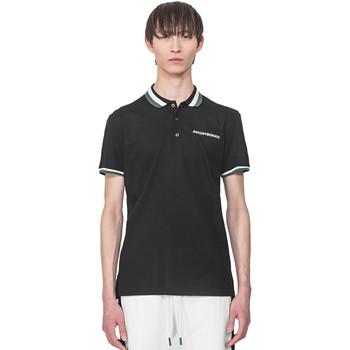 Îmbracaminte Bărbați Tricou Polo mânecă scurtă Antony Morato MMKS01713 FA100083 Negru