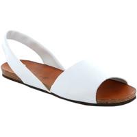 Pantofi Femei Sandale  Grunland SB1623 Alb