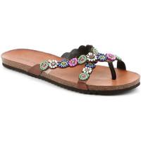 Pantofi Femei  Flip-Flops Grunland CB2502 Maro