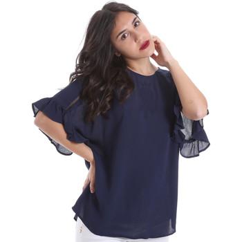 Îmbracaminte Femei Topuri și Bluze Gaudi 011BD45015 Albastru