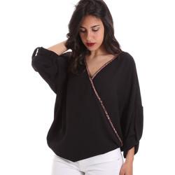 Îmbracaminte Femei Topuri și Bluze Gaudi 011BD45026 Negru