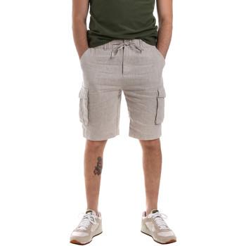 Îmbracaminte Bărbați Pantaloni scurti și Bermuda Sseinse PB591SS Bej