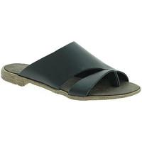 Pantofi Femei Papuci de vară 18+ 6120 Negru