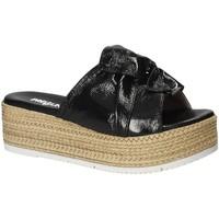 Pantofi Femei Papuci de vară Pregunta IL02402-CL Negru