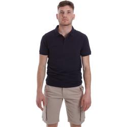 Îmbracaminte Bărbați Tricou Polo mânecă scurtă Sseinse ME1517SS Albastru