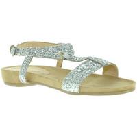 Pantofi Femei Sandale  Mally 4681 Argint