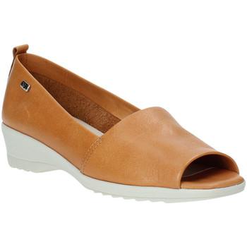 Pantofi Femei Balerin și Balerini cu curea Valleverde 41141 Maro