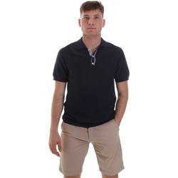 Îmbracaminte Bărbați Tricou Polo mânecă scurtă Sseinse ME1528SS Albastru