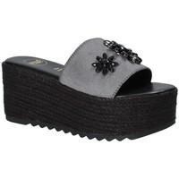 Pantofi Femei Papuci de vară Exé Shoes G47008347A13 Negru