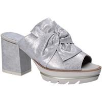 Pantofi Femei Papuci de vară CallagHan 22601 Gri