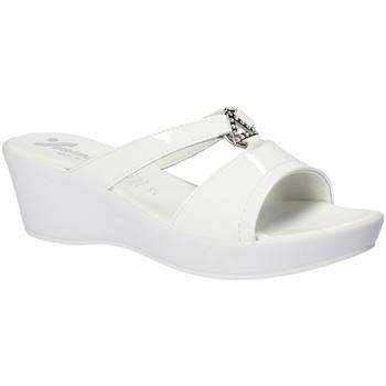 Pantofi Femei Papuci de vară Susimoda 173643 Alb