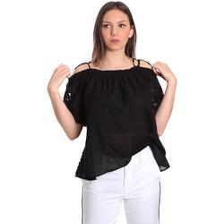 Îmbracaminte Femei Topuri și Bluze Gaudi 811FD45011 Negru