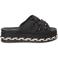 Pantofi Femei Papuci de vară Exé Shoes G41006307001 Negru