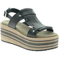 Pantofi Femei Sandale  Pregunta IBH5804 Negru