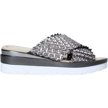 Pantofi Femei Papuci de vară Valleverde 32140 Argint