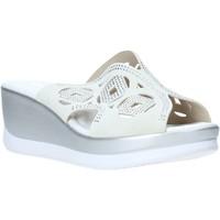 Pantofi Femei Papuci de vară Valleverde 32150 Alb