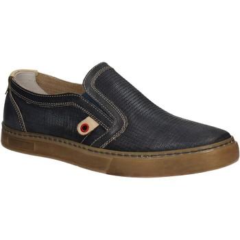 Pantofi Bărbați Pantofi Slip on Café Noir QT121 Albastru